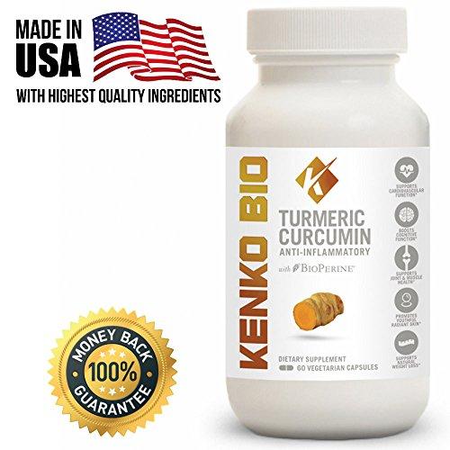 Turmeric Supplement BioPerine Inflammatory Antioxidant product image