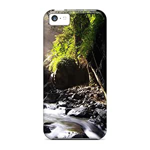 Snap-on Neidong Waterfall Case Cover Skin Compatible With Iphone 5c