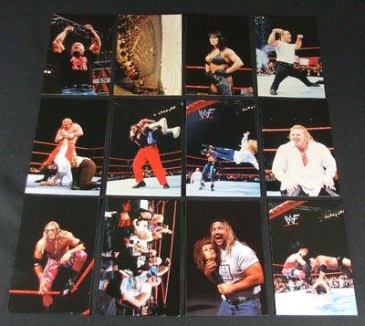 1999 Titans WWF Wrestle Mania WrestlemaniaLIVE! Set (54) Cards