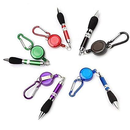 FUNSECO - Bolígrafos 3 en 1 retráctiles, bolígrafo de ...