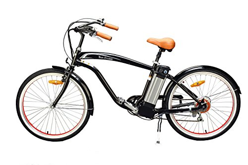 Yukon Trail Sun Cruzer 6 Speed Electric Bike Eco-Friendly Electric Bike