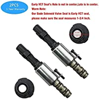 For 2004 2005 2006 2007 2008 Ford Expedition F150 Mustang Sport Trac 3V 5.4L 4.6L With A Pair of Gloves WMPHE Camshaft Variable Valve Timing Solenoid VCT Replaces# 3L3Z-6M280-EA 8L3Z-6M280