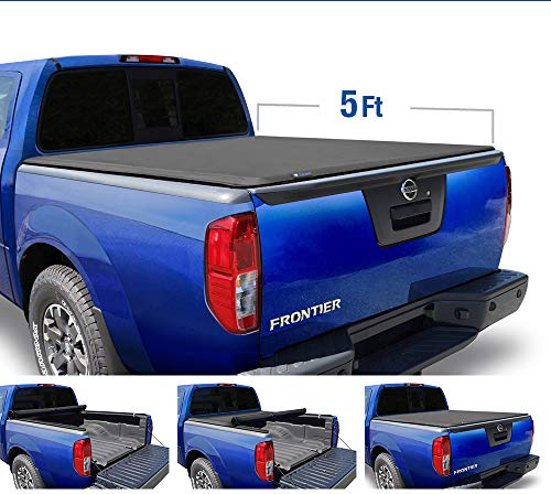 2008 Nissan Frontier Truck - Tyger Auto T1 Roll Up Truck Tonneau Cover TG-BC1N9034 Works with 2005-2019 Nissan Frontier 2009-2014 Suzuki Equator   Fleetside 5' Bed   for Models with or Without The Utili-Track System