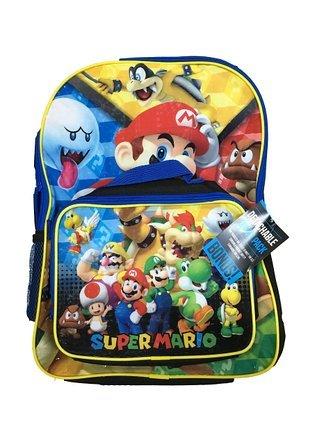Nintendo - Mochila de Super Mario Bros con bolsa para el almuerzo nueva 420566: Amazon.es: Juguetes y juegos