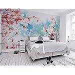 Carta Da Parati 3D Fotomurali Fiore Rosa Farfalla Pianta Camera da Letto Decorazione da Muro XXL Poster Design Carta per… 51H9vsb67IL. SS150