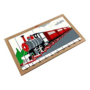 Skola Toys Sequencing Wooden Train...