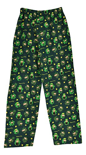 Mens green st patrick pants