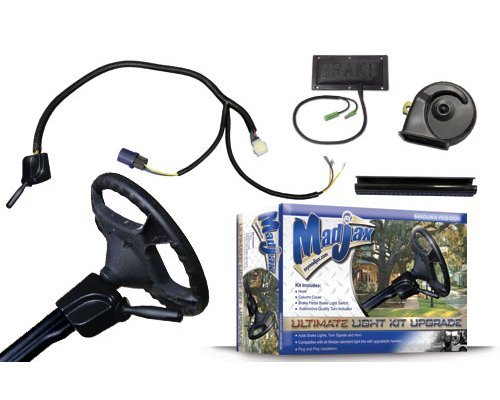 Madjax 02-006 Ultimate Street Legal Light Upgrade Kit with Yamaha Drive, EZGO TXT, Club Car Precedent Golf Carts