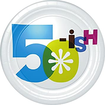 Image Unavailable Not Available For Color 50th Birthday Plates