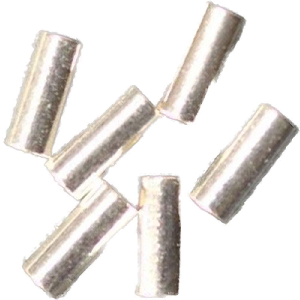 9tubos de 925de plata 5x 2mm fugenlos 29001