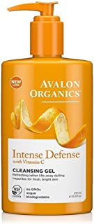 product image for Avalon Organics Intense Defense Cleansing Gel, 8.5 Fluid Ounce(Pack of 8)