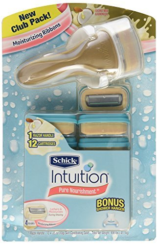 schick-intuition-pure-nourishment-razor-with-12-cartridges-by-schick