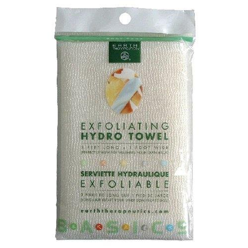 Earth Therapeutics Hydro Exfoliating Towel, 1 each (Pack of 2) ()