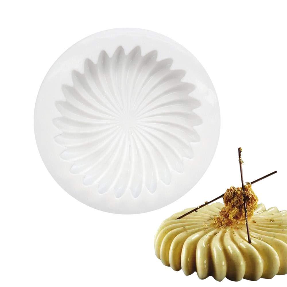 Compra BKMuju Forma de Flor de Silicona Molde para Hornear para ...