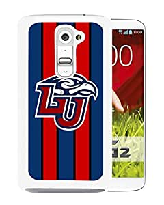 NCAA Liberty Flames 7 White Hard Shell Phone Case For LG G2