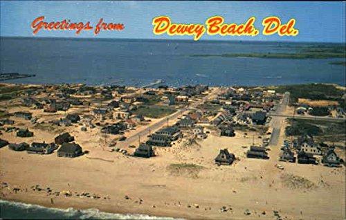 Greetings From Dewey Beach Dewey Beach, Delaware Original Vintage Postcard by CardCow Vintage Postcards