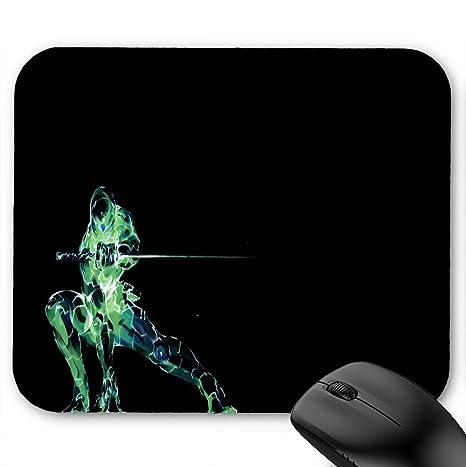 Amazon.com : Simple Background Ninja Robot Mouse Pad 11.8