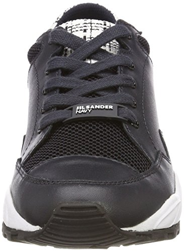 Jil Sander Ladies Sneaker Sportivo Blu (blu Scuro)