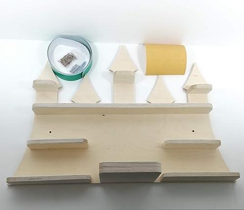 DIY Tonie Board, Schloß, ideale Aufbewahrung für Tonie Box und Tonie  Figuren, Kinderzimmer Regal, Deko Board, Musikboxaufbewahrung, Hängeregal