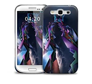 Abstract 3D Samsung Galaxy S3 GS3 protective phone case