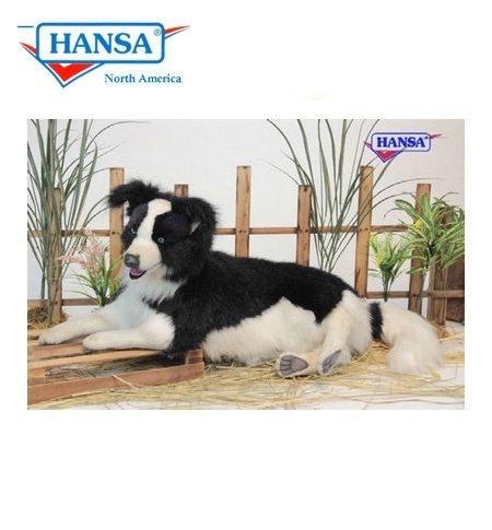 - Hansa True-to-Life Laying Border Collie