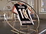 FanPlastic A J Green 18 Cincinnati Bengals Desktop Clock - National Football League Legends Edition !!
