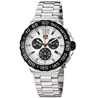 TAG Heuer Men's CAU1111.BA0858 Formula 1 White Dial Chronograph Steel Watch from TAG Heuer