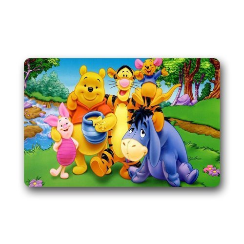 Cute Winnie The Pooh Rugs For Kids Colorful Creative