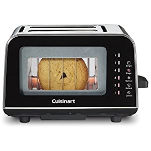 Cuisinart CPT-3000 ViewPro Glass 2 Slice Toaster : perfect toast everytime!