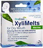 Orahealth XyliMelts Mint-Free Discs - 40 discs, Pack of 5