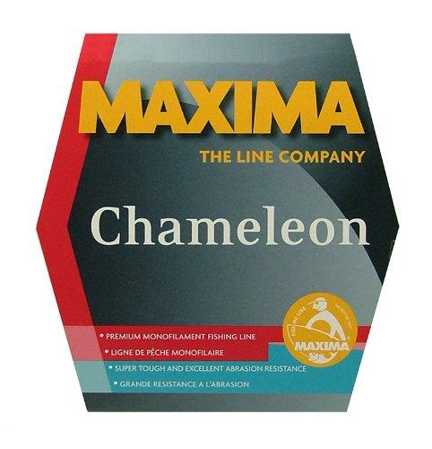 Maxima 1 - Shot Red Chameleon Monofilament