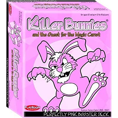 Playroom Entertainment Killer Bunnies Pink Booster: Toys & Games
