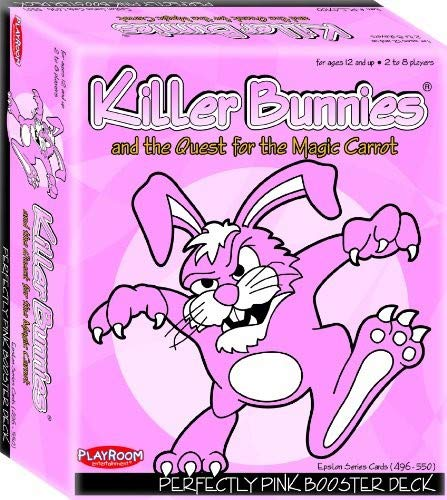 Red Booster Pack - Playroom Entertainment Killer Bunnies Pink Booster