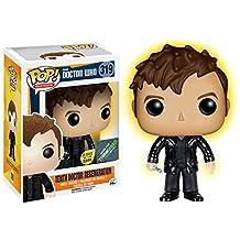 Funko - Figurine Doctor Who - 10th Doctor Regeneration Glow in the Dark Exclu Pop 10cm - 0849803077587