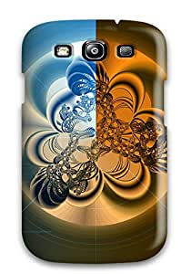 New Shockproof Protection Case Cover For Galaxy S3/ Shapes Abstract Case Cover