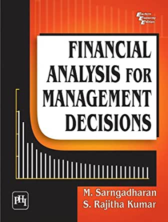 Amazon.com: FINANCIAL ANALYSIS FOR MANAGEMENT DECISIONS