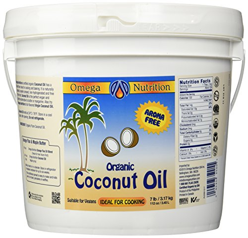 Omega Nutrition – Certified Organic Coconut Oil 112 Oz Review