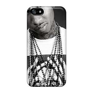 Anti-Scratch Cell-phone Hard Cover For Iphone 5/5s With Custom High Resolution Tyga Pattern DrawsBriscoe Kimberly Kurzendoerfer