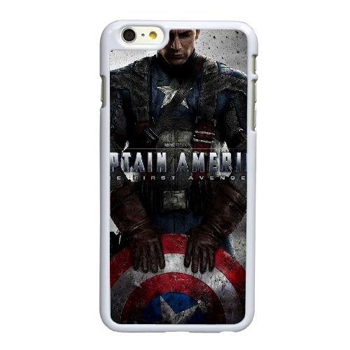 H5R83 Captain America The First Avenger Haute Résolution Affiche A4F6LK coque iPhone 6 Plus de 5,5 pouces cas de couverture de téléphone portable coque blanche WU5LXV5VI