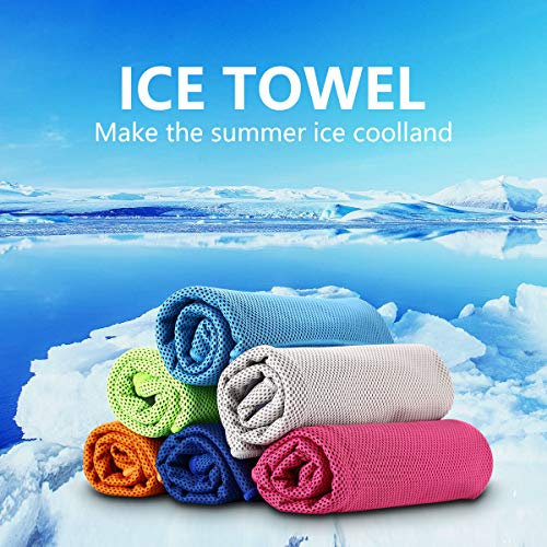 LONGCHAO Cooling Towel for Sports, Golf, Fitness, Travel, Gym, Yoga, Camping Outdoor Sports Towel for Instant Cooling