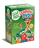 Leapfrog Learning DVDs 5-Pack (Talking Words Factory / Talking Words Factory II / Learn to Read at the Storybook Factory / Letter Factory /Math Circus)