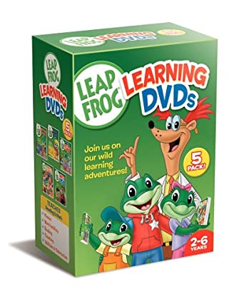 Leapfrog learning dvds 5-pack [import]: amazon. Ca: dvd.