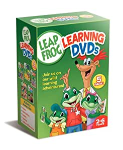 leap frog letter factory pre reading math circus dvds leapfrog learning dvds 5 pack talking words 464