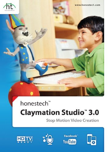 Claymation Studio 3.0 Academic (10 pack license) [Download] by Honestech