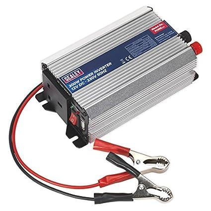 Sealey PI500 Power Inverter 500W 12V DC - 230V 50Hz JSPI500