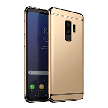 buy popular 593ca 92b23 Samsung Galaxy S9+ Cover, Lightweight Luxury Smart Sleep Wake UP ...