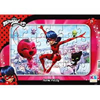 Ks Games Miracuolus Lady Bug 24 Parça Frame Puzzle - LD704