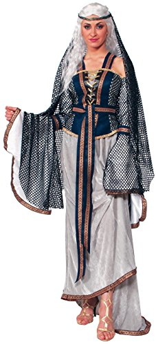 Forum Novelties Women's Medieval Fantasy Lady Of The Lake Costume, Multi, X-Large