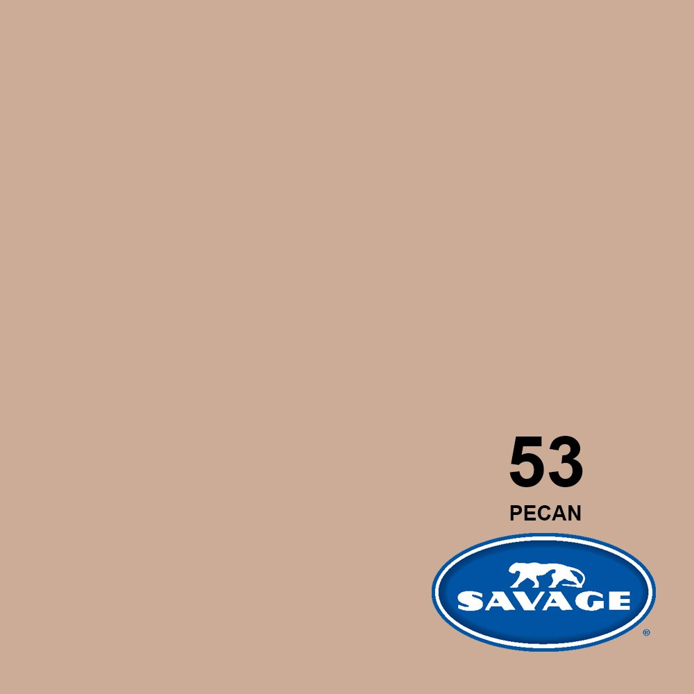 Savage Seamless Background Paper - #53 Pecan (107 in x 36 ft) by Savage (Image #2)