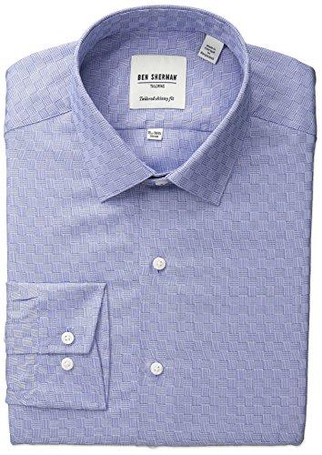 ben-sherman-mens-skinny-fit-textured-spread-collar-dress-shirt-blue-17-neck-34-35-sleeve